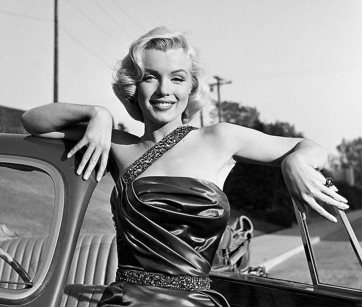 Las mujeres más hermosas de Hollywood Marilyn Monroe