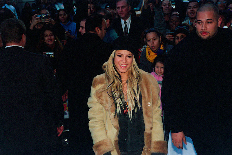 Shakira Pies Descalzos 25 aniversario - fiesta