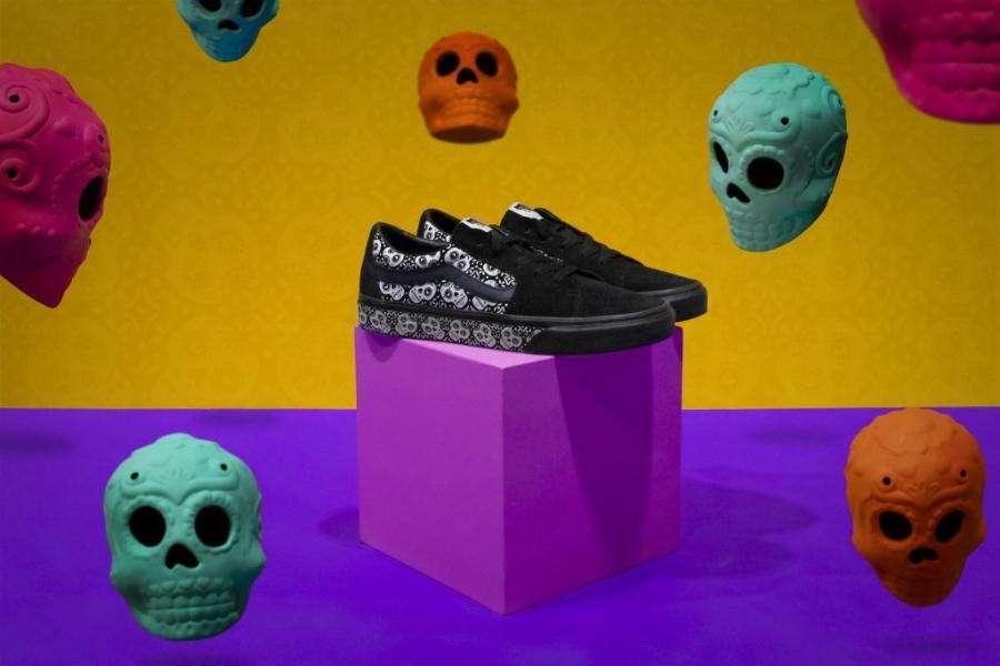 vans celebra el día de muertos 2020 con el modelo sk8
