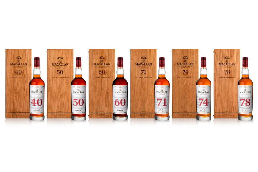 The Red Collection, la colección de whisky más exclusiva