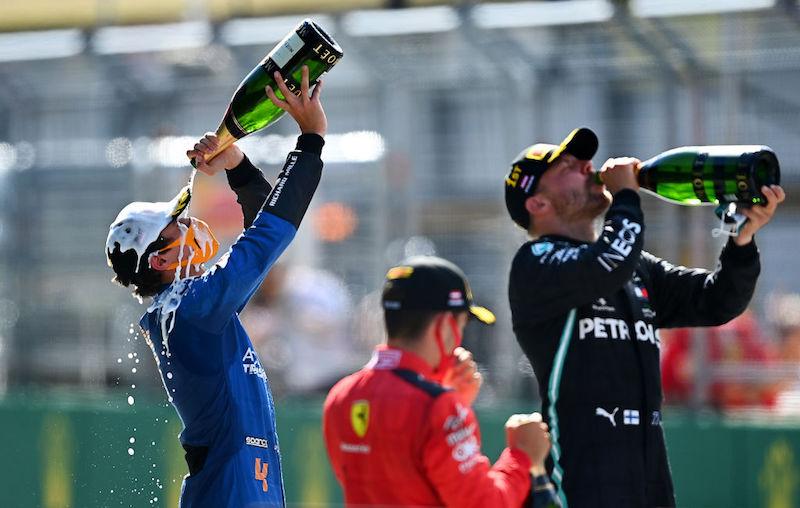 Fórmula 1 Calendario 2021 México - competidores