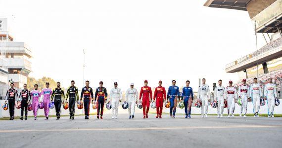 Fórmula 1 Calendario 2021 México - equipos