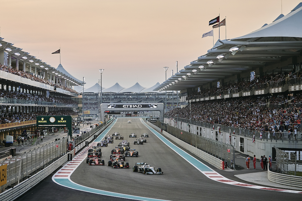 Fórmula 1 Calendario 2021 México - países