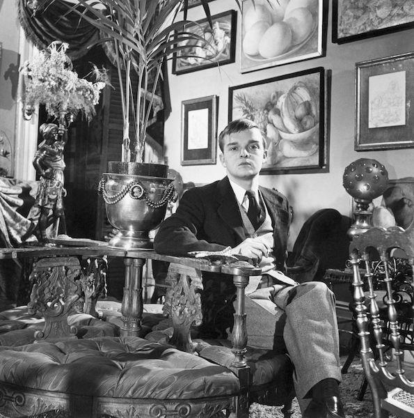 Truman Capote joven