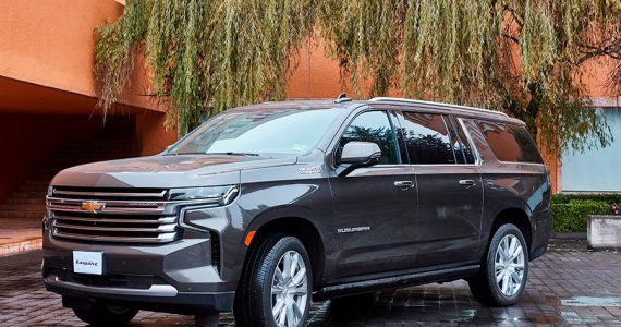 NUEVA CHEVROLET SUBURBAN HIGH COUNTRY: ABRAN PASO AL REY