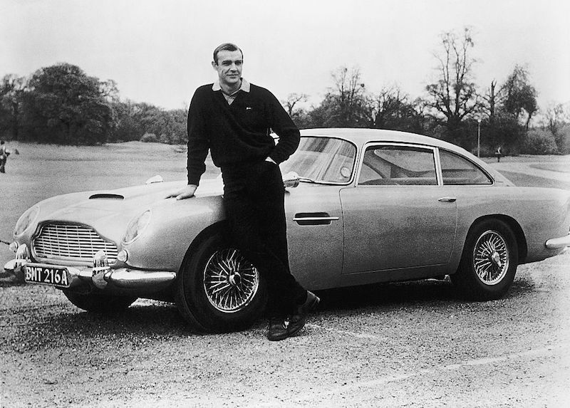 Impacto cultural de James Bond aston martin