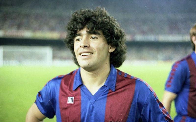 Muerte de Maradona Barcelona