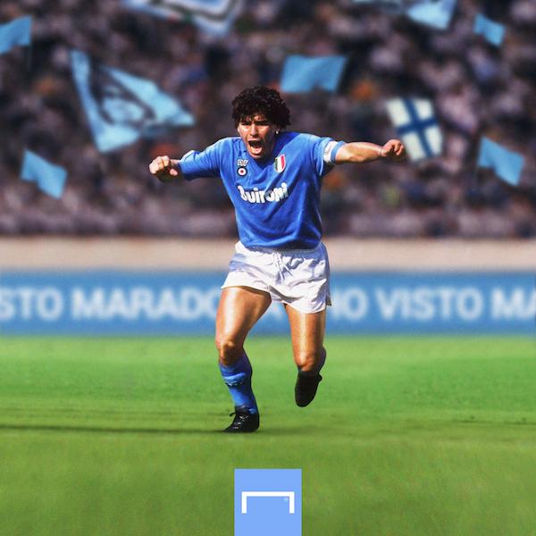 Muerte de Maradona Goles