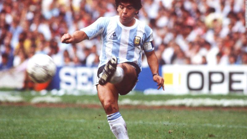 Muerte de Maradona Jugadas