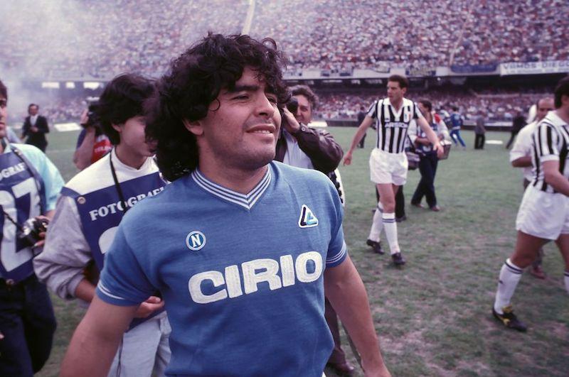 Muere Maradona área
