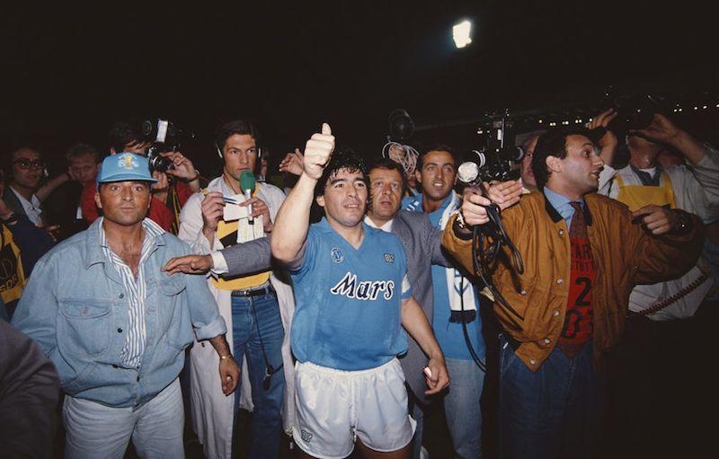 Muere Maradona partido
