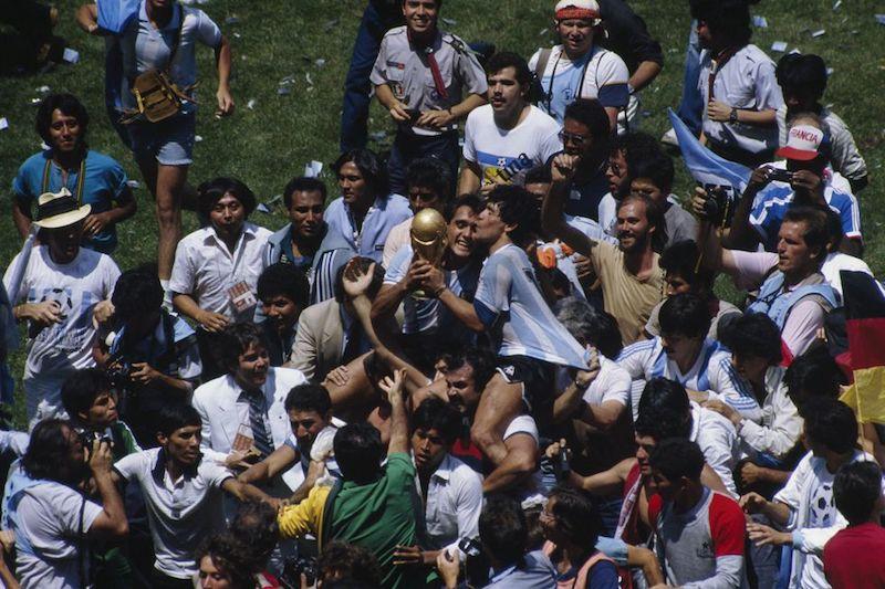 Muere Maradona privilegiado