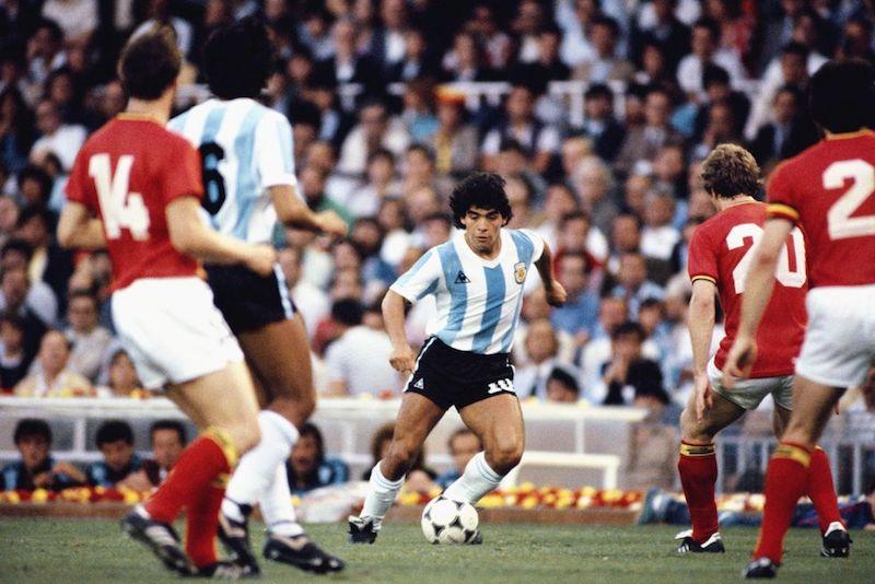Muere Maradona Ronaldo