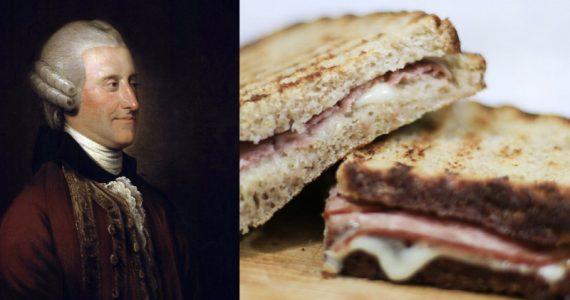 Primera Guerra Mundial y un sándwich