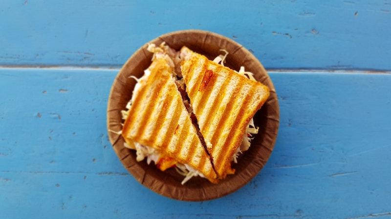 Primera Guerra Mundial y un sándwich de queso