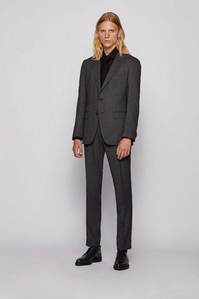 Tipos de traje para hombre Hugo Boss