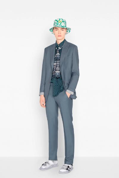 Tipos de traje para hombre Dior