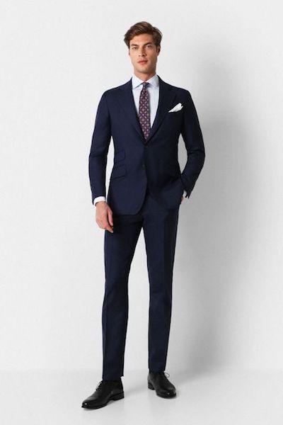 Tipos de traje para hombre Scalpers