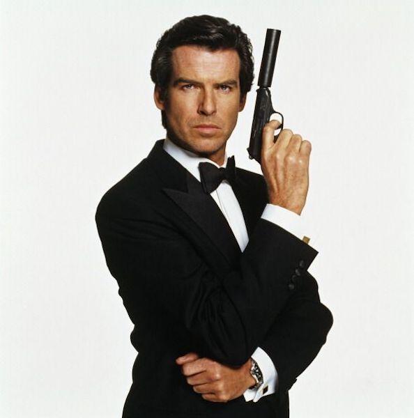 Todos los 007 de la historia Pierce Brosnan