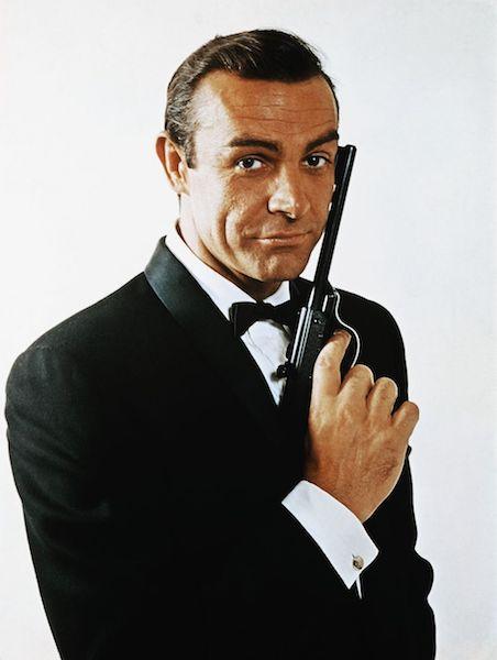 Todos los 007 de la historia Connery