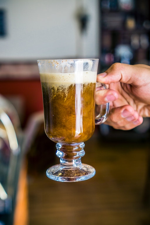 Café Irlandés Receta Capuchinera