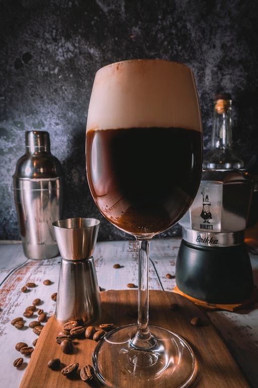 Café Irlandés Receta Copa
