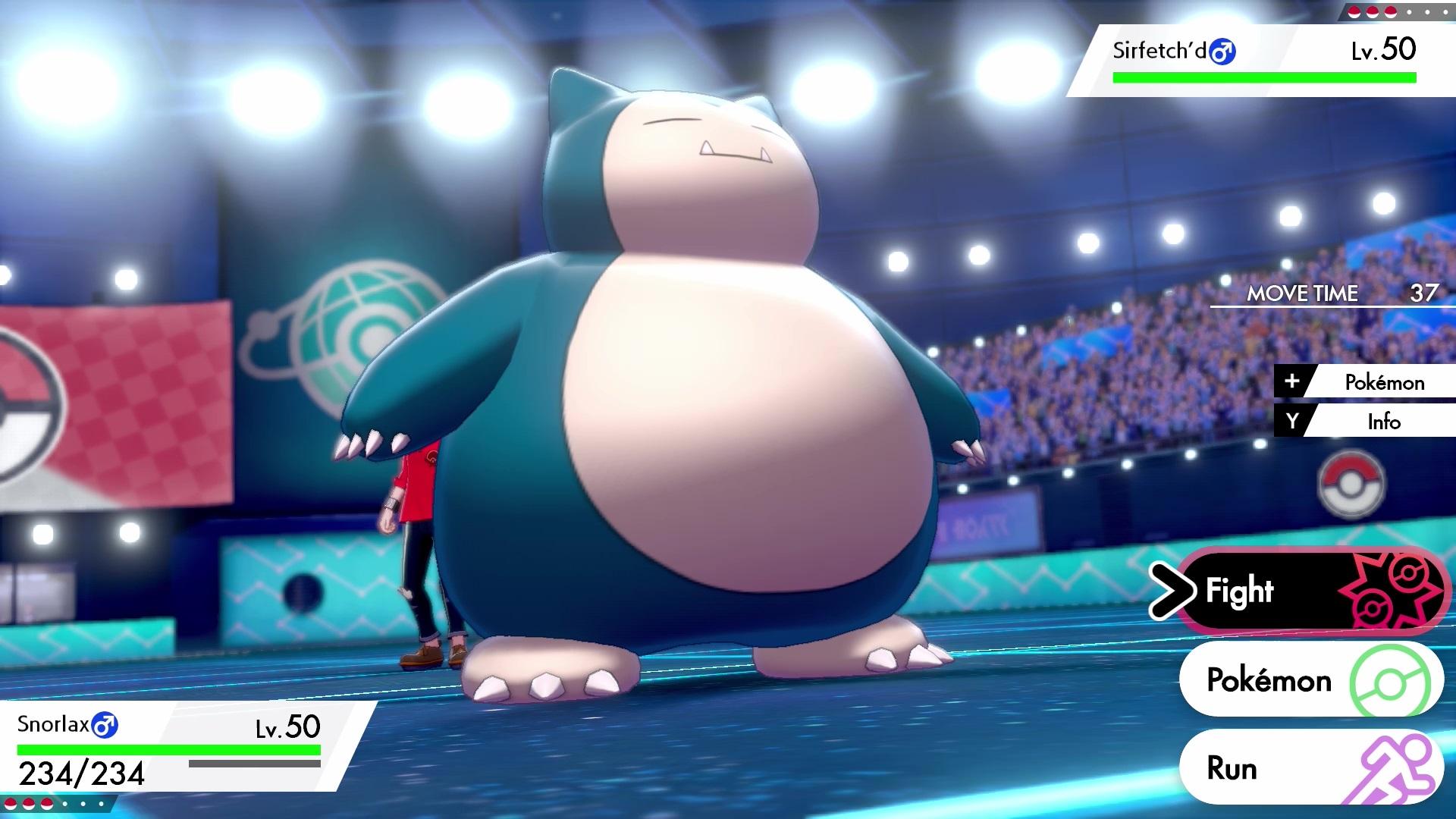 Nuevos juegos para Nintendo Switch snorlax