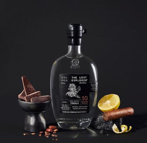 Recetas de cocteles con mezcal botella