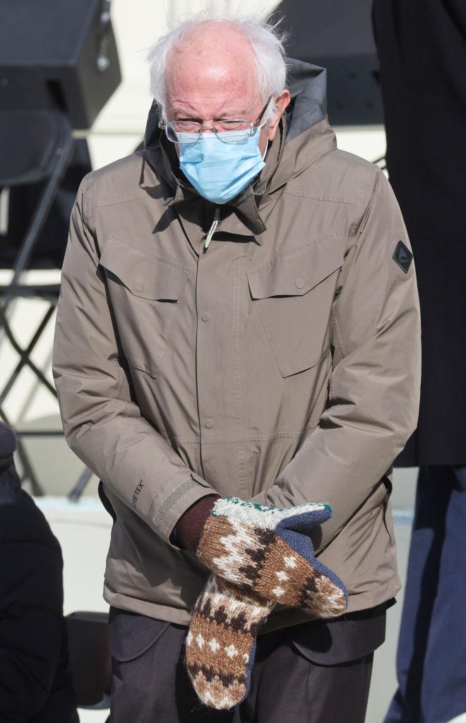bernie sanders guantes