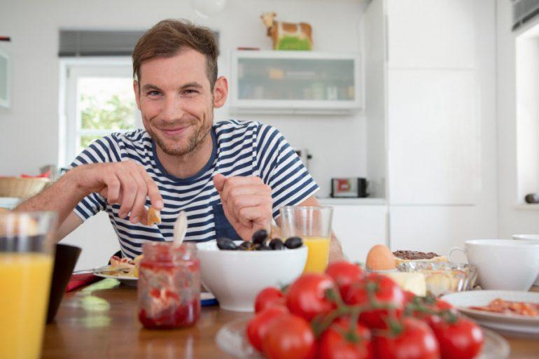 Comida saludable para hombres