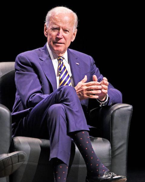 Joe Biden estilo Púrpura