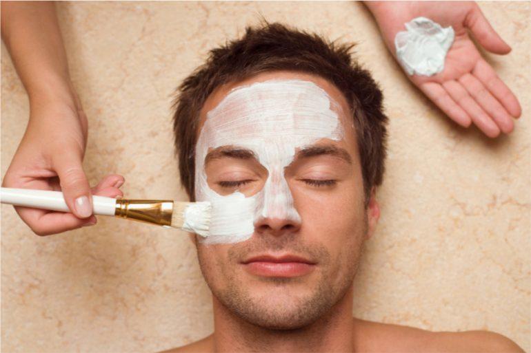 Mascaraillas para la cara para hombres grooming