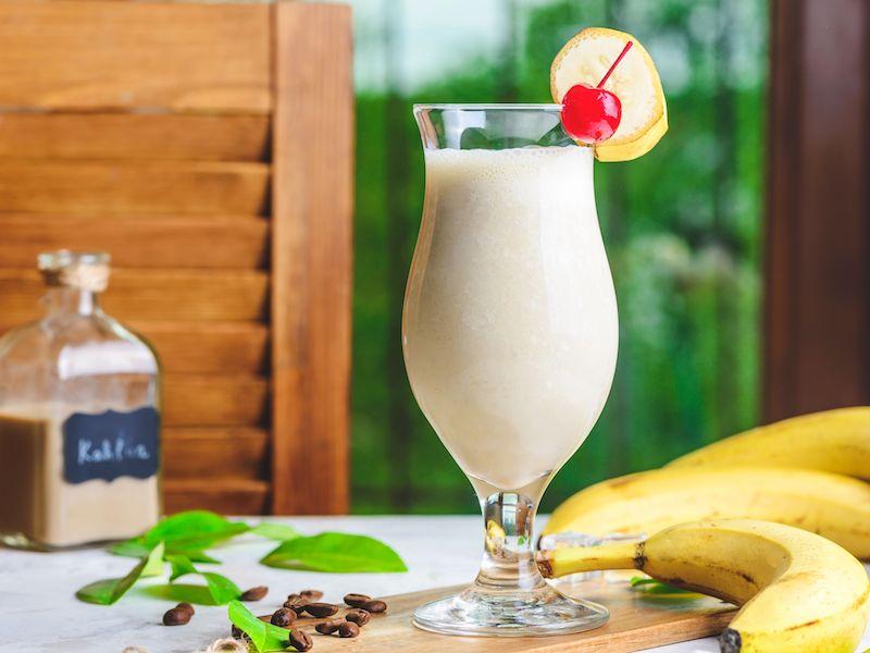 Recetas de cocteles con ron banana