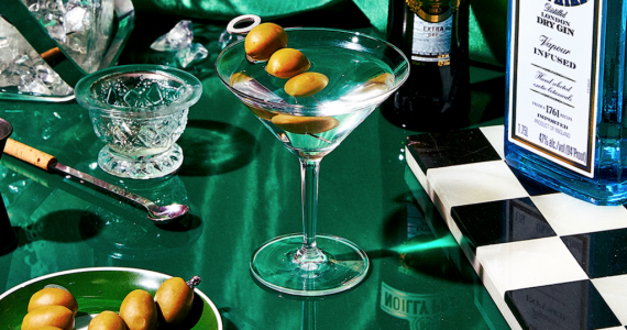 Cómo preparar un martini con ginebra