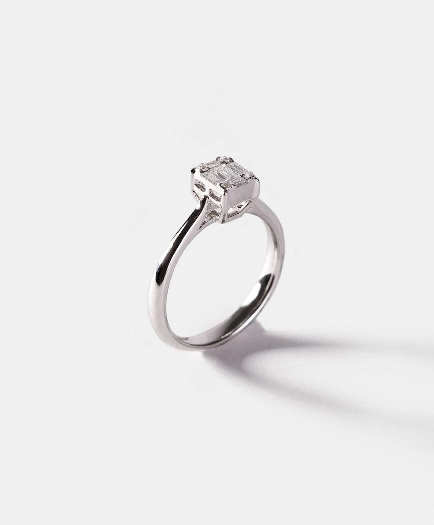 Consejos para elegir anillo de compromiso cuadrado