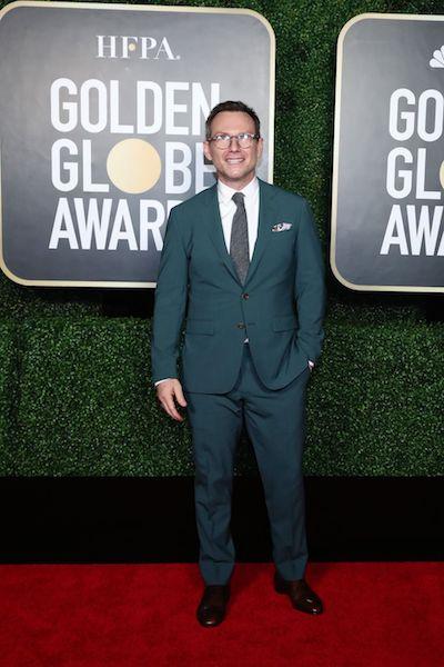 Golden Globes 2021 hombres mejor vestidos christian slater