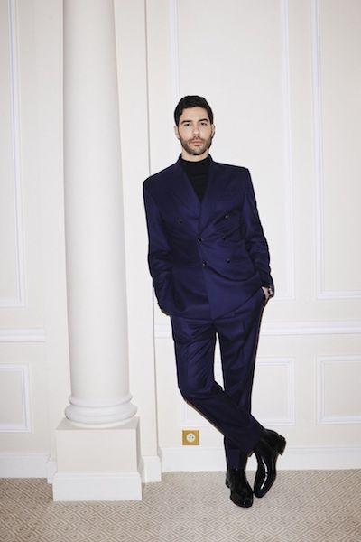 Golden Globes 2021 hombres mejor vestidos Tahar Rahim