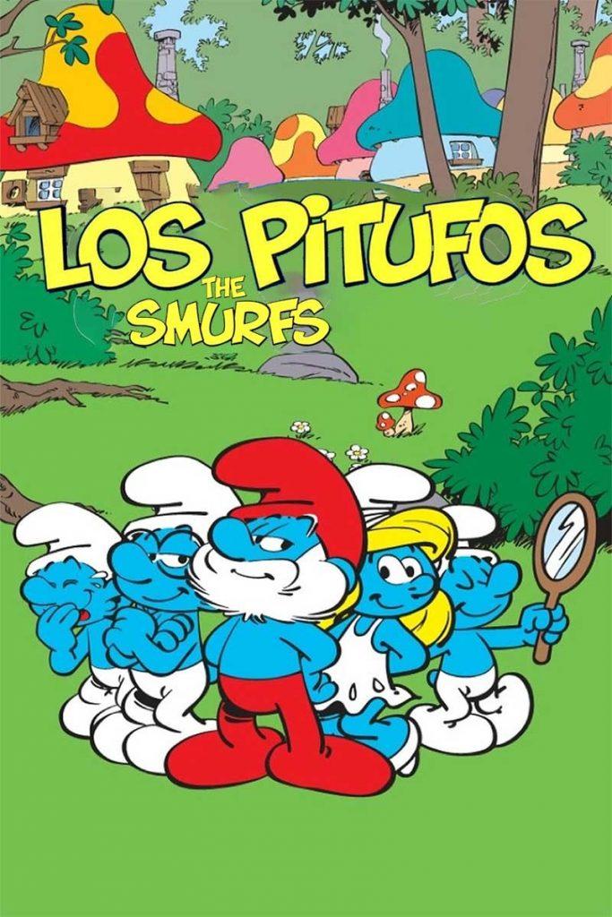 Los pitufos smurfs peliculas en español gratis para niños completas cartel caricatura