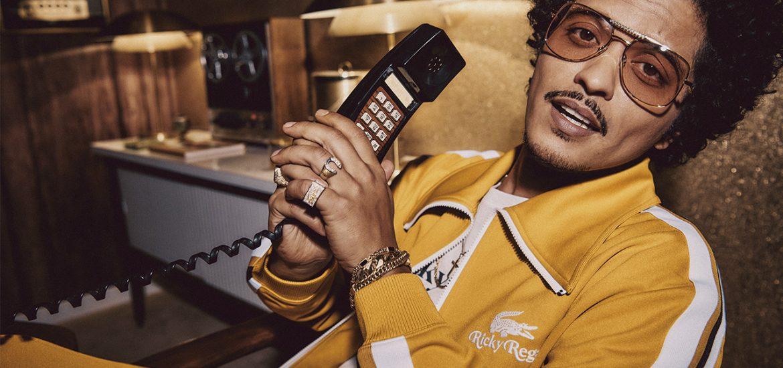 Bruno Mars Lacoste ropa deportiva Ricky Regal