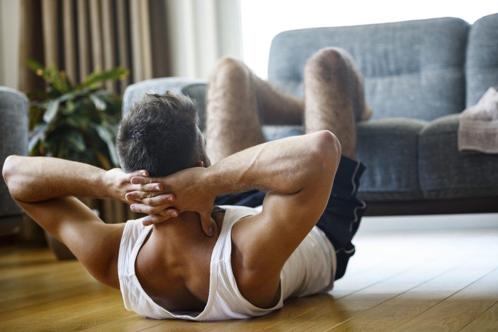 Cómo aumentar músculo con ejercicios como abdominales
