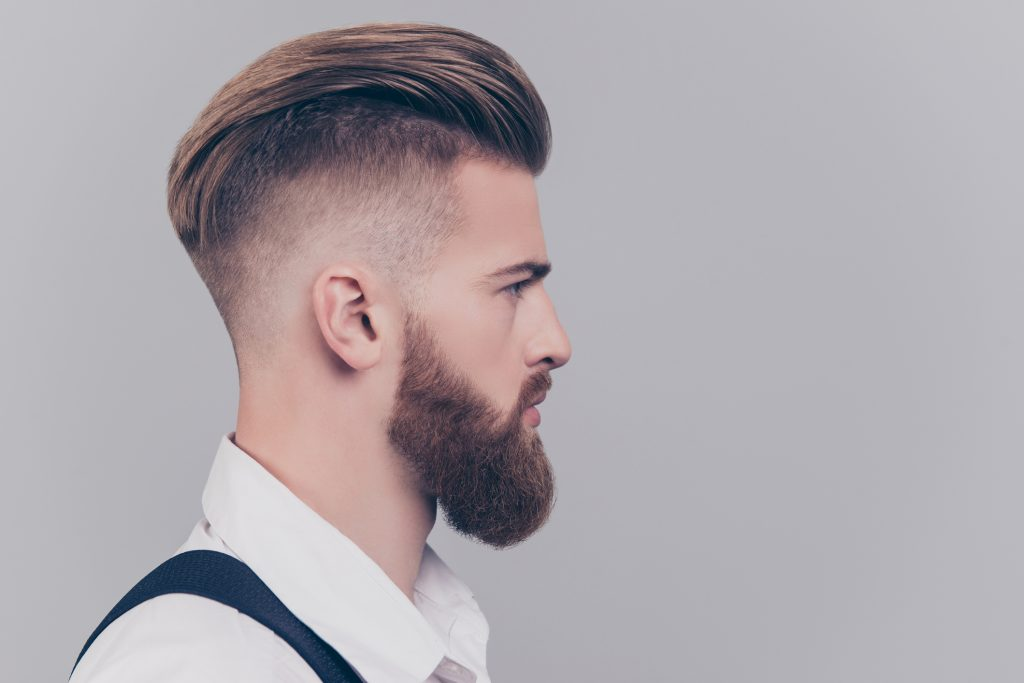 Cortes de cabello desvanecido y con barba
