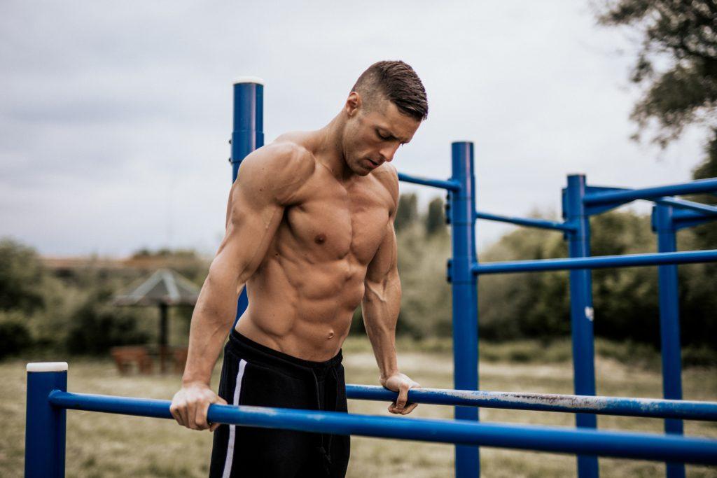 Ejercicios de inmersiones para ganar masa muscular
