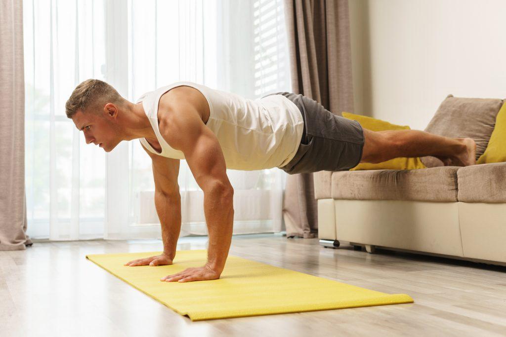 Entrenamiento militar para ganar masa muscular