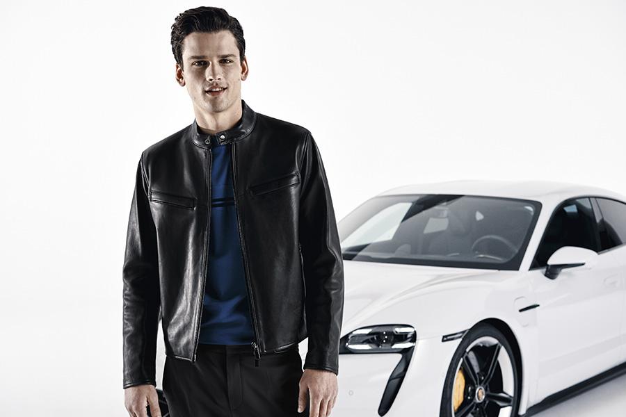 Porche Hugo Boss autos moda