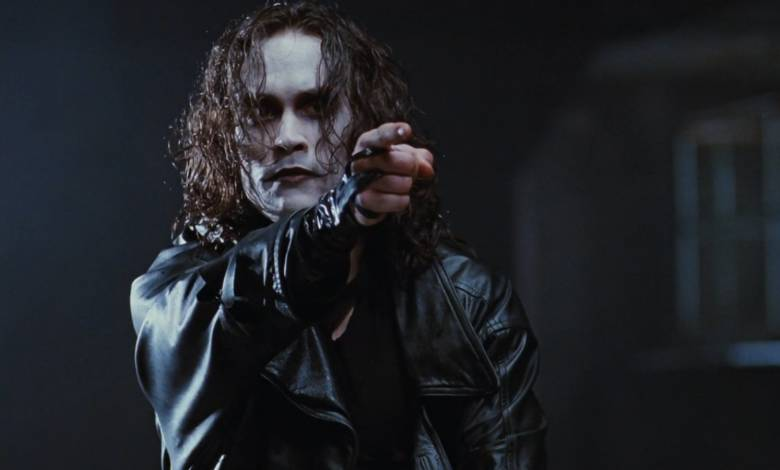 Brandon Lee dans The Raven