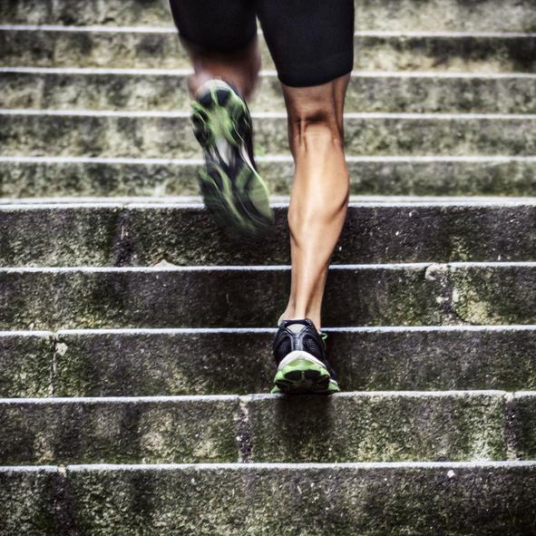 Subir escaleras corriendo