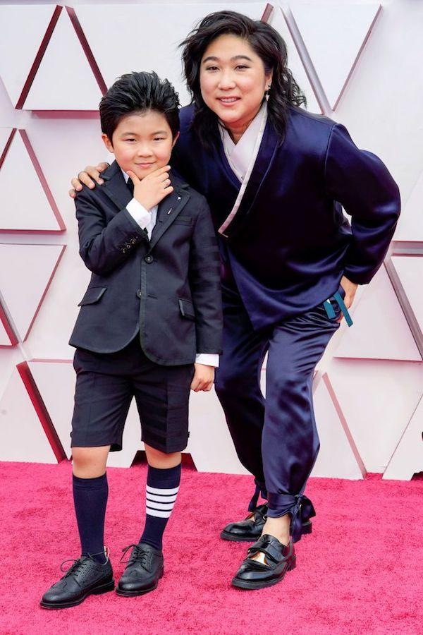 Hombres Mejor Vestidos Oscars Alan Kim