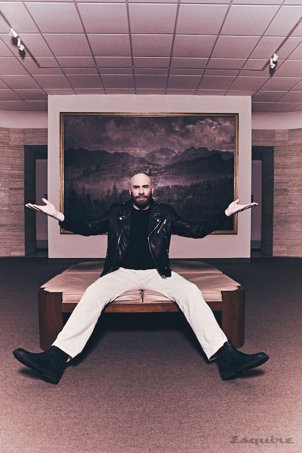 John Travolta en Esquire aprendizajes