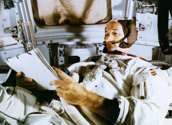Muere Michael Collins Astronauta