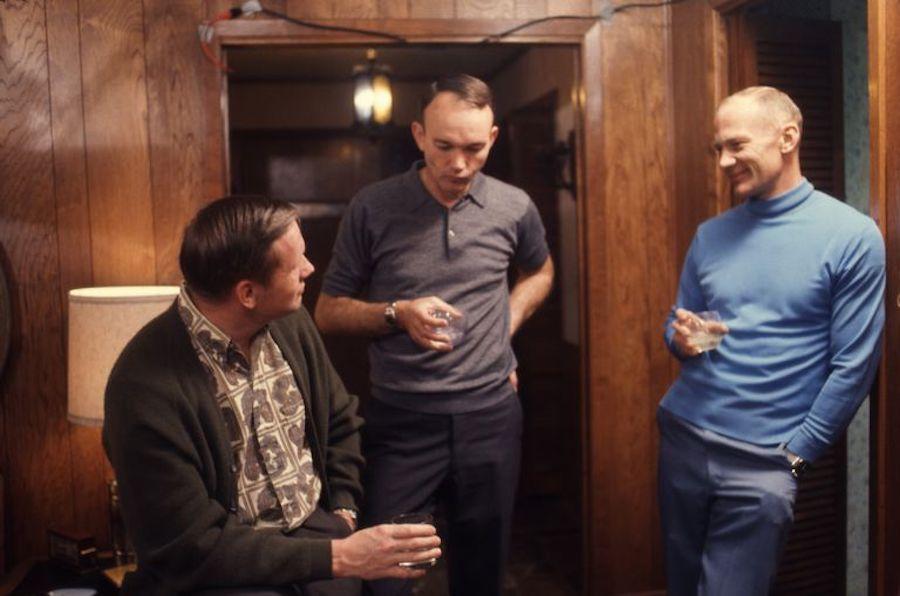 Muere Michael Collins Astronauta amigos